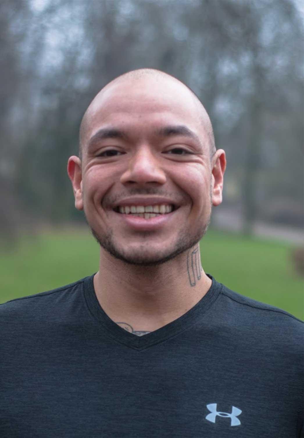 personal trainer Jordy Supusepa